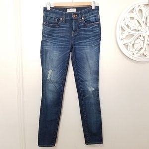 Madewell size 25 skinny jeans